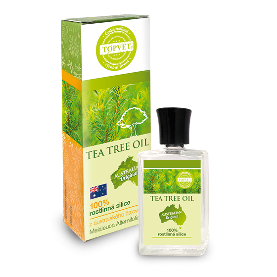 Tea tree oil - 100 % silica-10ml, Topvet