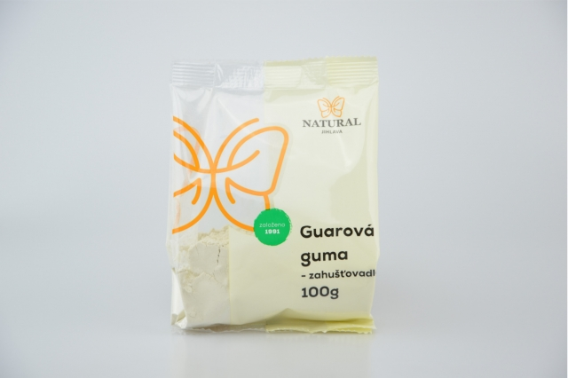 Guarová guma 100g, Natural Jihlava