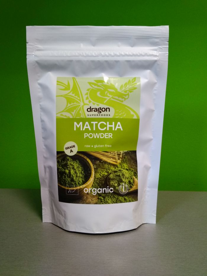 Prášok Matcha A BIO RAW 100g, Dragon Superfoods